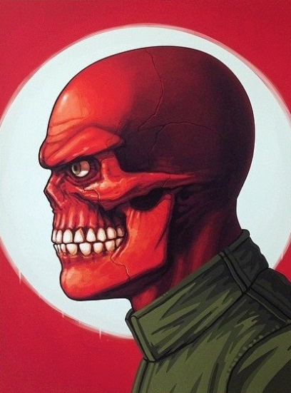 Mike Mitchell Red Skull