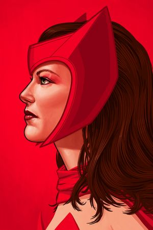 Mike Mitchell Scarlet Witch