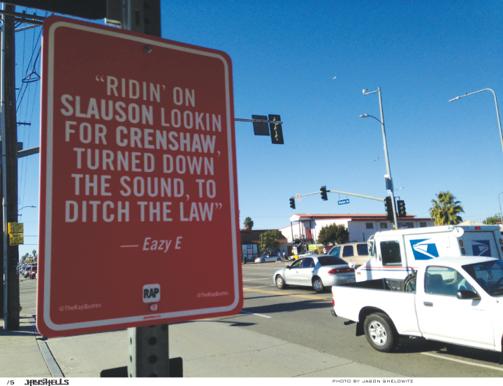Rap Signs Eazy E