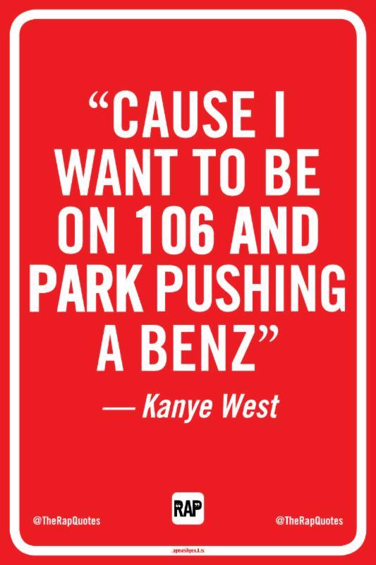 Rap Signs Kanye West