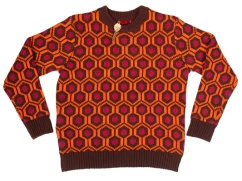 Mondo 237: Knit Sweater - 100% acrylic heavy knit sweater. Comes with custom die-cut Mondo Room 237 key (while supplies last). Runs from size XS through 3XL. $85