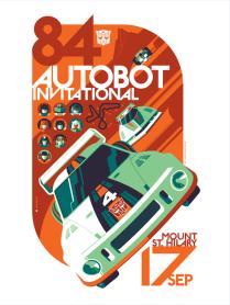 Autobot Invitational by Tom Whalen