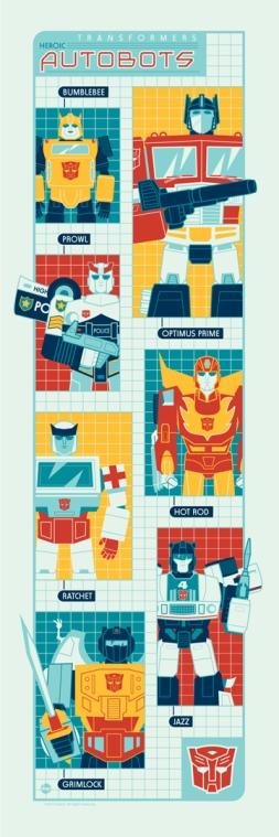 Autobots by Dave Perillo