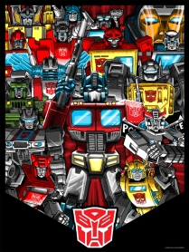 Autobots by Tim Doyle