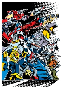 Autobots by Guido Guidi