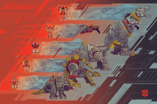 Dinobots by Kevin Tong