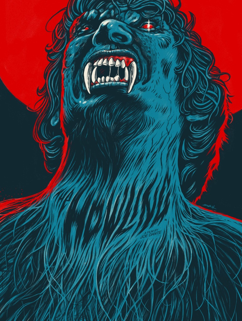 thehowling Horror movie art