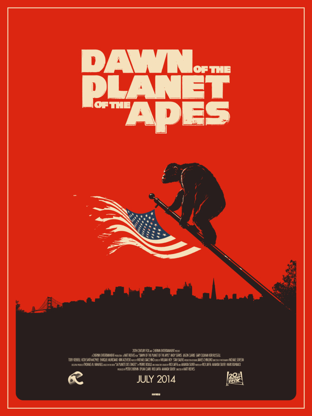 "Matt Ferguson ""Dawn Of The Planet Of The Apes"""