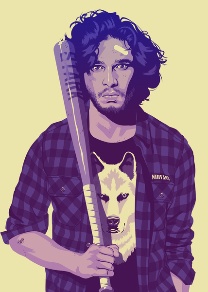 Mike wrobel game of thrones john snow