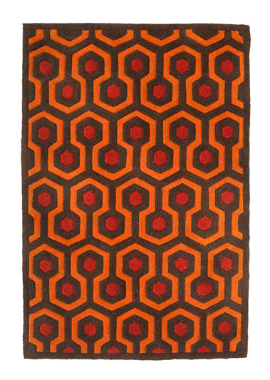 Mondo 237: Door Mat - 2′ x 3′, Hand tufted acrylic rug. 7mm pile with a cotton backing. $85