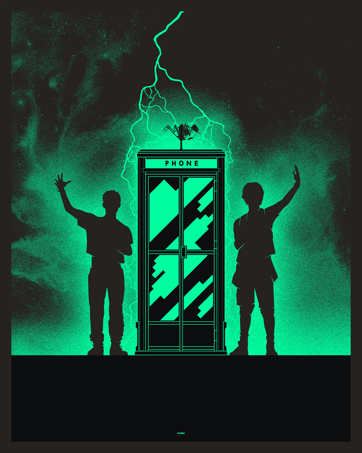 Matt Ferguson Reveals His Totally Triumphant Glow In The Dark Posters, On Sale This Thursday