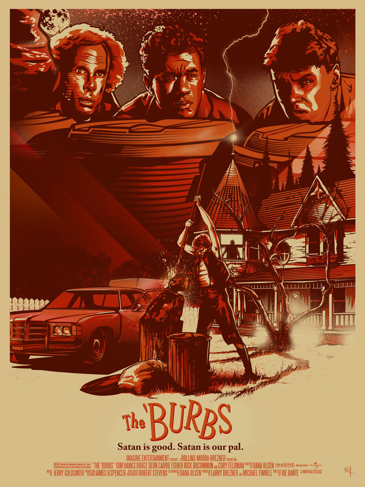 The Burbs Red