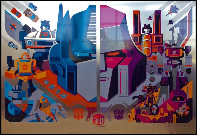Tom Whalen Transformers Metal