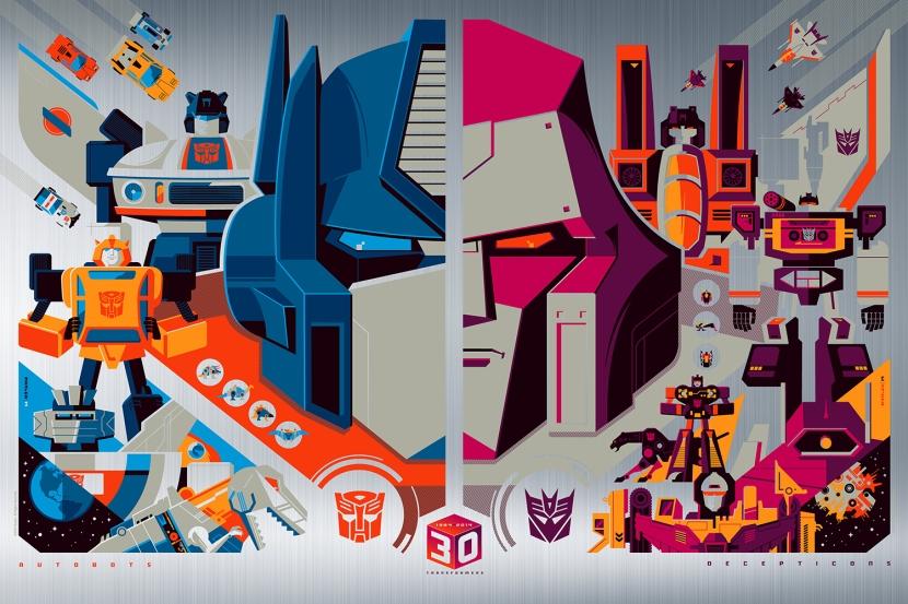 Tom Whalen Transformers Foil