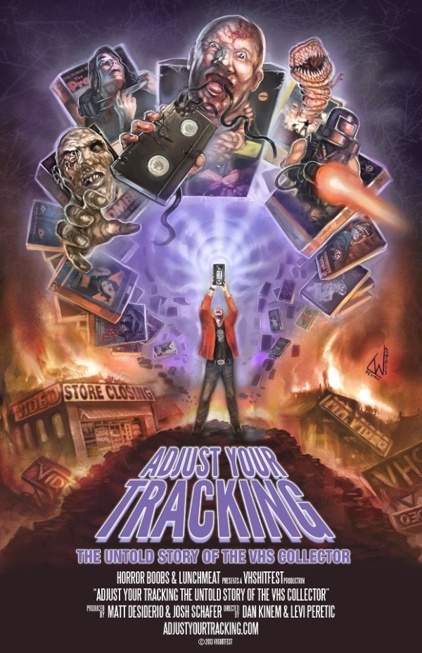 dvd covers inspired by vhs adjust your tracking