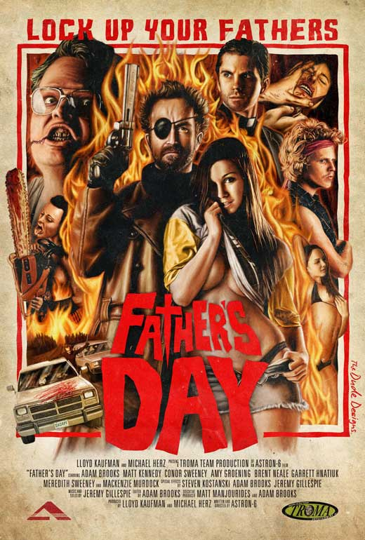 dvd covers inspired by vhs fathers day