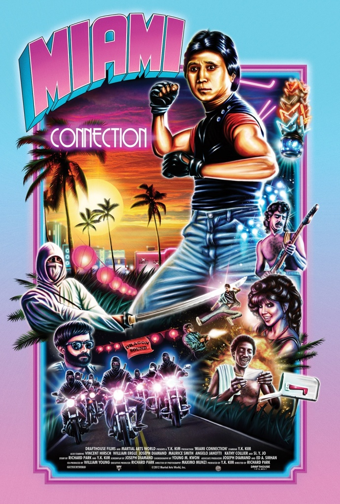 dvd covers inspired by vhs miami connection