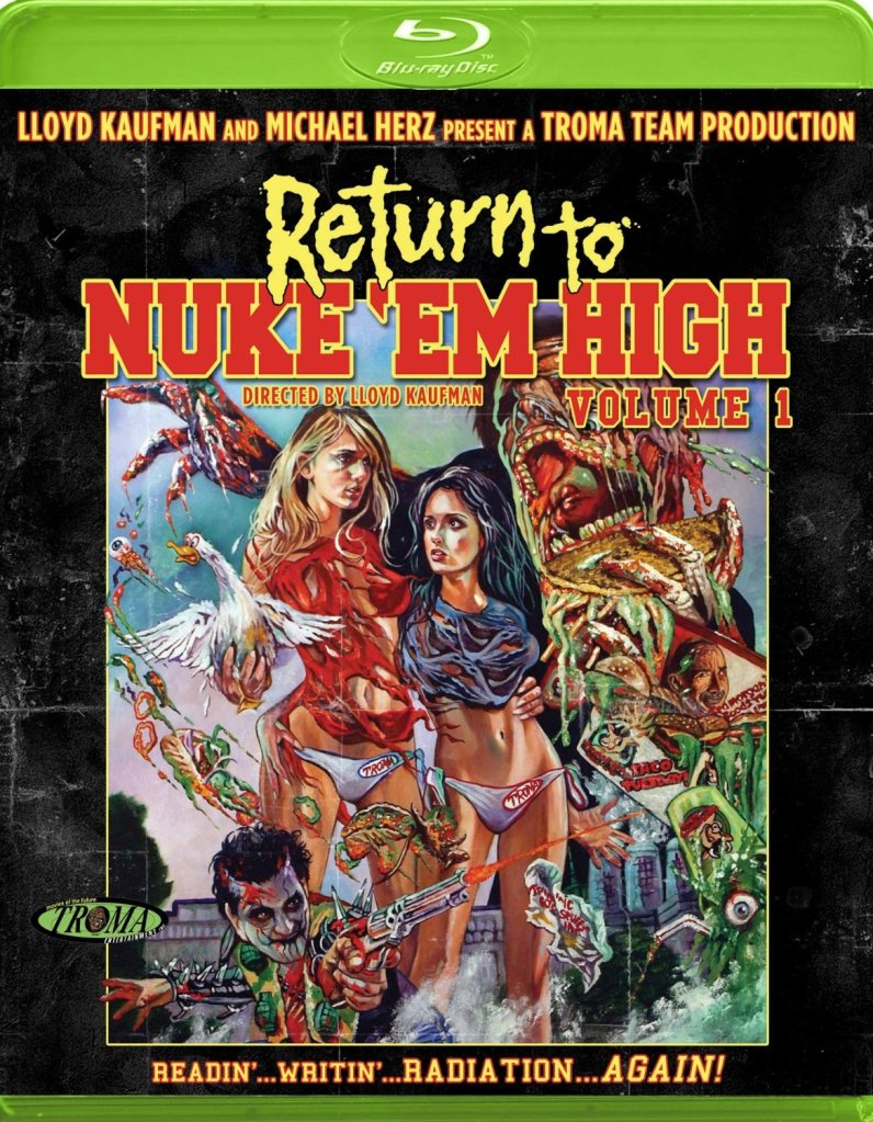 dvd covers inspired by vhs return to nuke em high