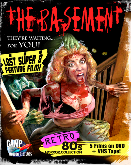 dvd covers inspired by vhs the basement