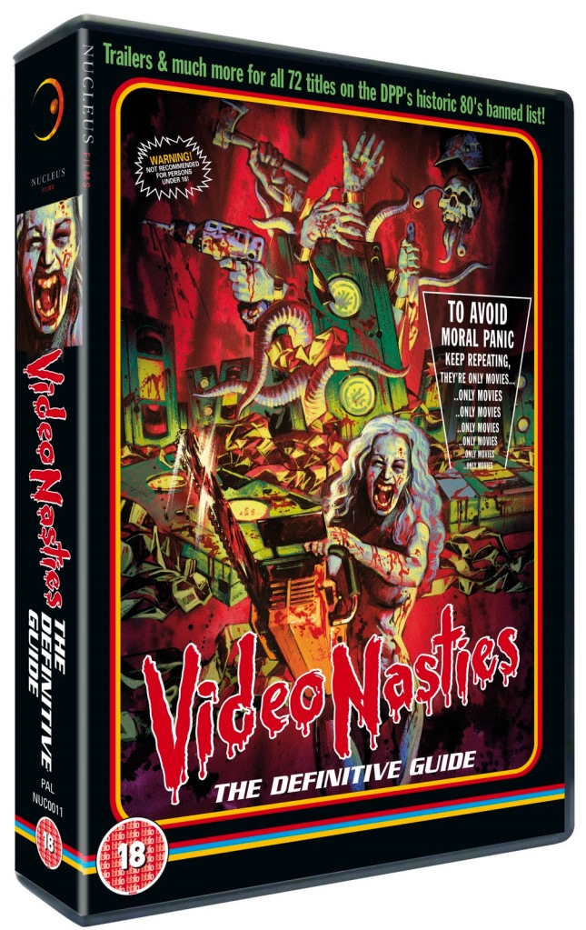 dvd covers inspired by vhs video nasties 1