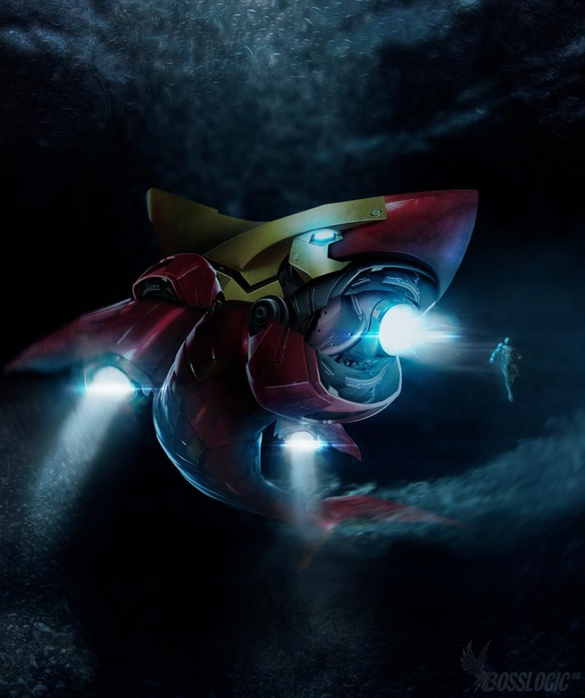 LGX iron shark