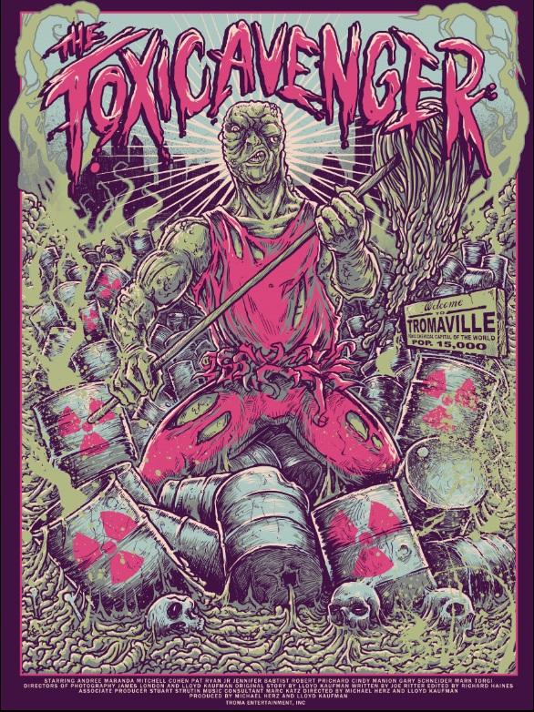 Toxic Avenger Godmachine