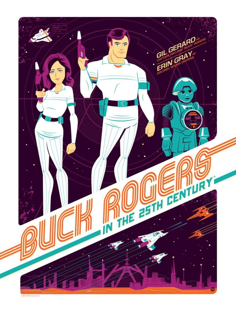 Variant Buck Rogers Dave Perillo