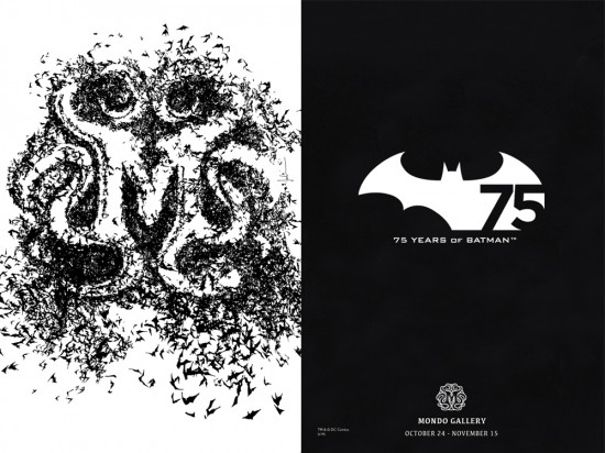 Mondo Batman Gallery
