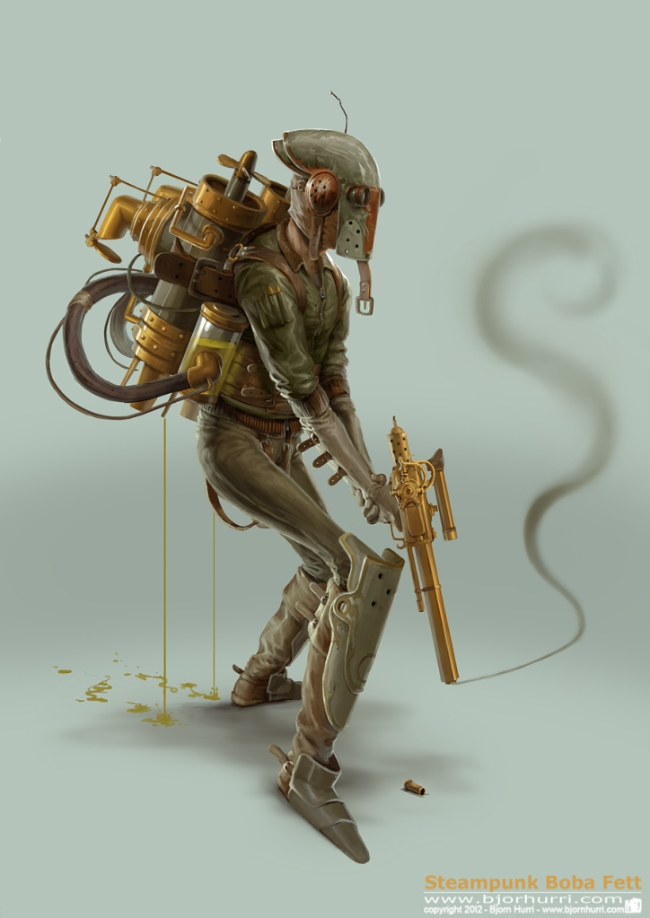 "Bjorn Hurri Gives The World A Superb Look Into A Steam Punk ""Star Wars"" Universe"