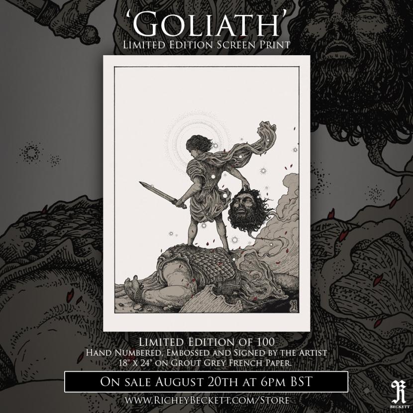 Goliath Promo Richey Beckett