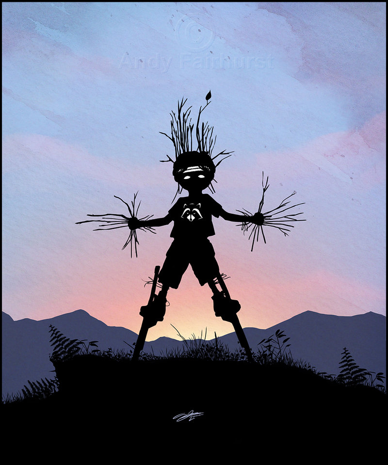 Andy Fairhurst Groot Superhero Kid