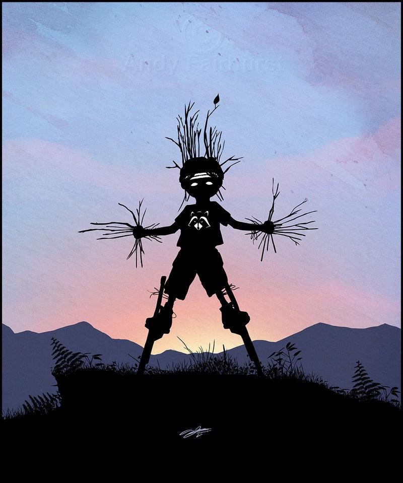 Andy Fairhurst Groot Superhero Kid