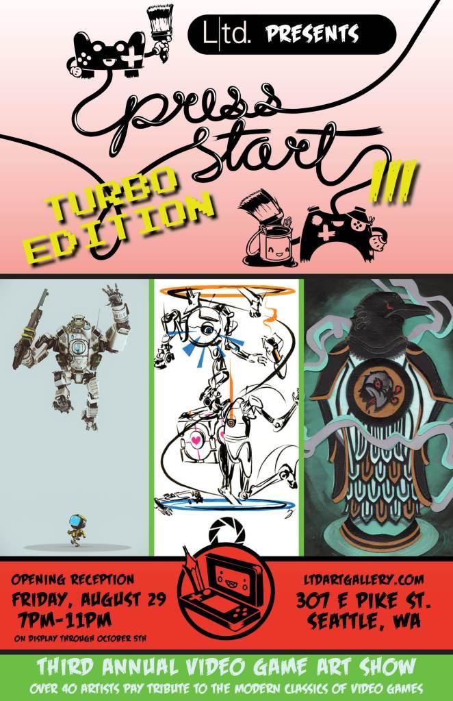 Press Start Turbo Edition Poster_V2