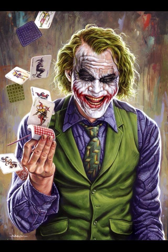 Jason Edmiston Joker Heath Ledger Dark Knight