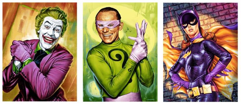 Jason Edmiston Joker Riddler Batgirl Batman